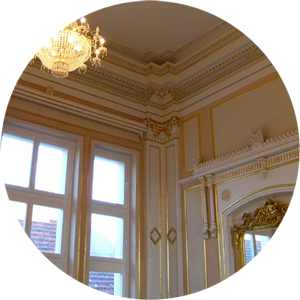 Referenz Vergoldung & historische Raumausmalung